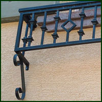 Custom Wrought Iron Shingle Springs