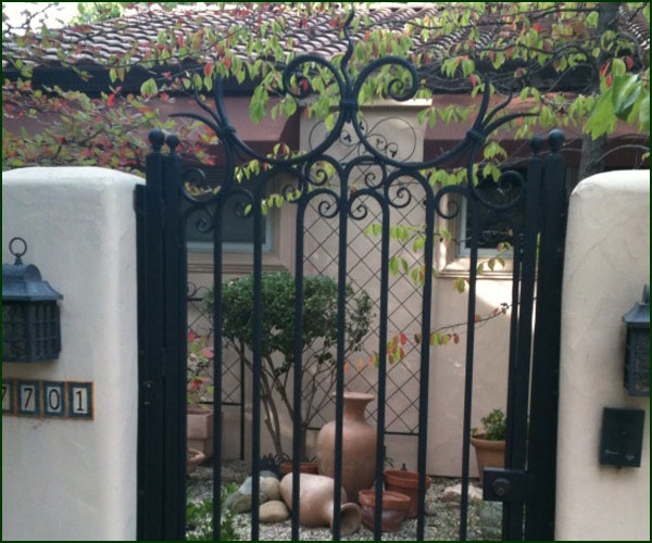 Courtyard Gate Design Elk Grove
